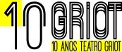 Logo Teatro Griot 10 anos
