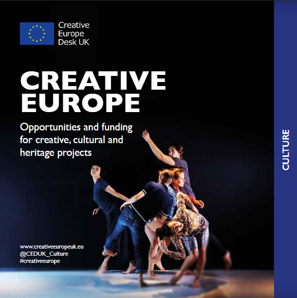 Cartaz do Creative Europe