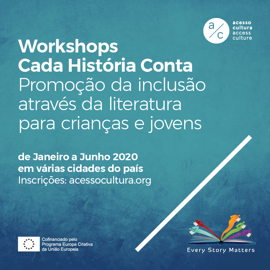 Cartaz dos workshops