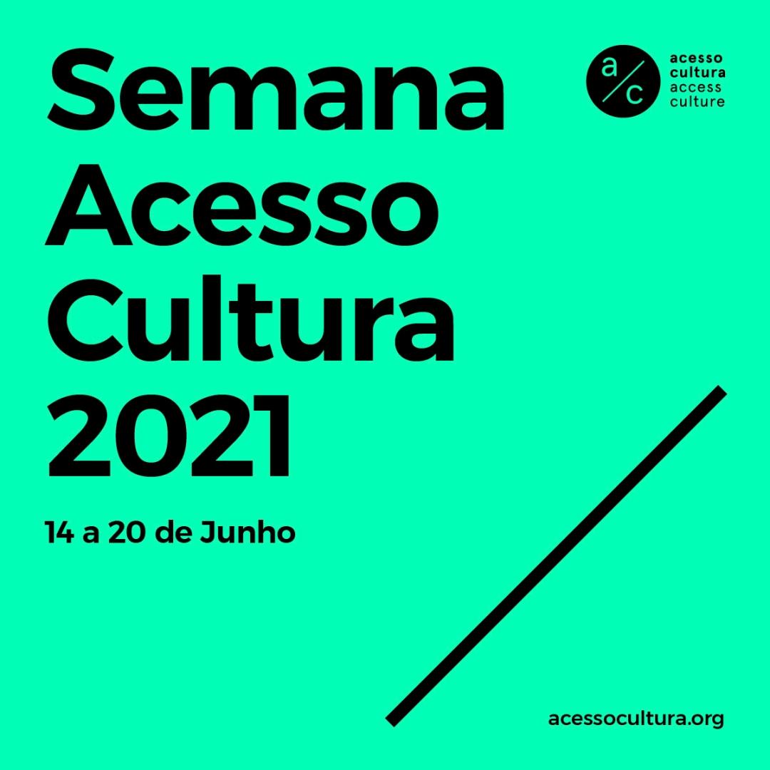 Cartaz da Semana Acesso Cultura 2021